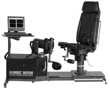 Isokinetic-dynamometer-Cybex-Humac-Norm
